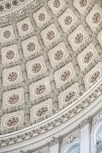 US Capitol Rotunda Detail 1 by Lillis Werder