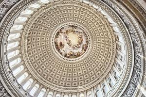 US Capitol Rotunda Detail 3 by Lillis Werder