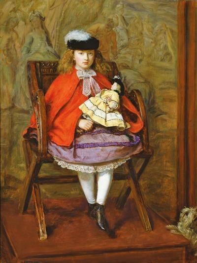 Lilly Noble, 1863-64-John Everett Millais-Giclee Print