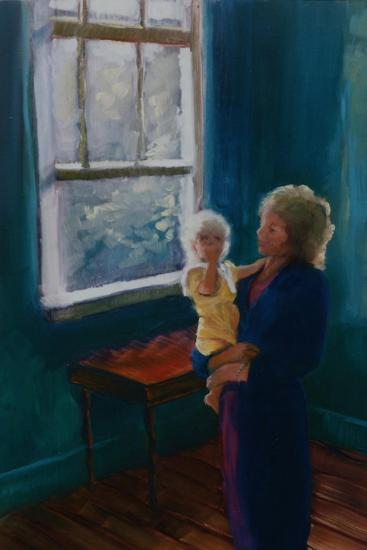 Lily and Mira, 1997-Lee Campbell-Giclee Print