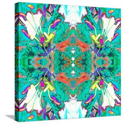 Lily Butterflies-Rose Anne Colavito-Stretched Canvas Print