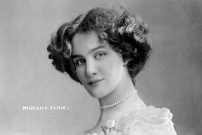Lily Elsie (1886-196), English Actress, Early 20th Century- Johnston & Hoffman-Giclee Print