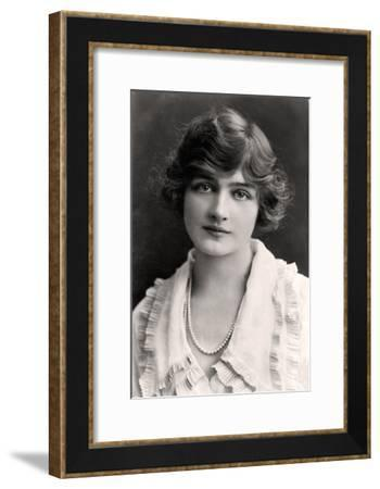 Lily Elsie (1886-196), English Actress, Early 20th Century-Rita Martin-Framed Giclee Print