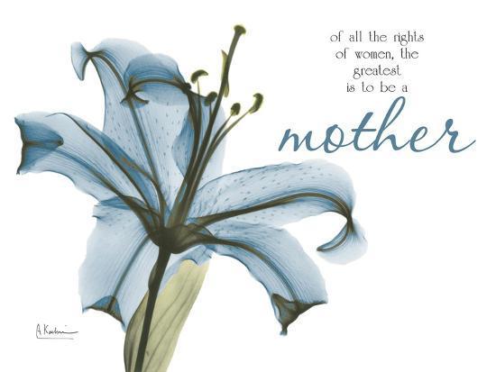 Lily Mother-Albert Koetsier-Art Print