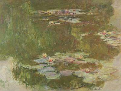 Lily Pond, 1881-Claude Monet-Giclee Print