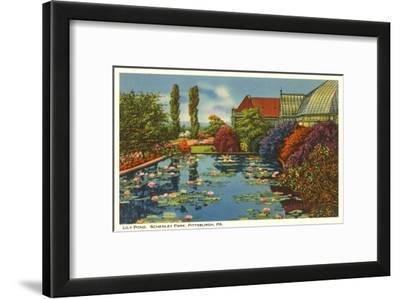 Lily Pond, Schenley Park, Pittsburgh, Pennsylvania