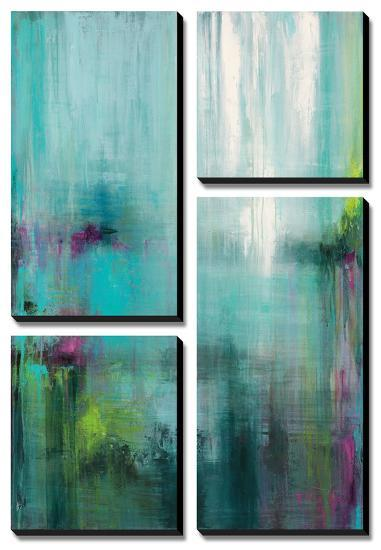 Lily Reflections-Wani Pasion-Canvas Art Set