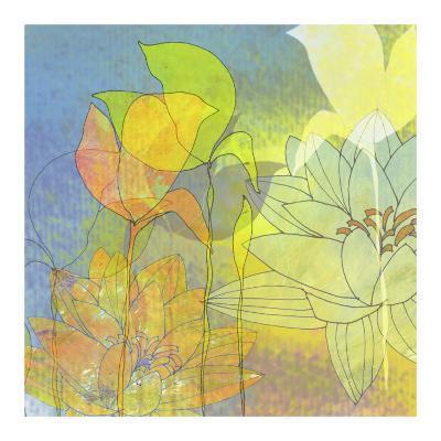 Lily Shadows-Jan Weiss-Art Print