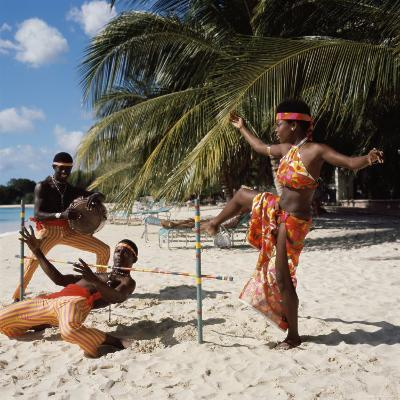 Limbo Dance, Barbados--Photographic Print