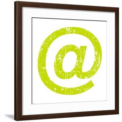 Lime Ampersat-Veruca Salt-Framed Art Print