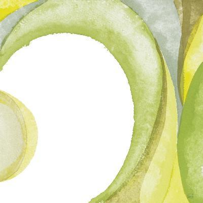 Lime Geometric II-Chris Paschke-Premium Giclee Print
