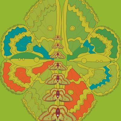 Lime Green Zuca Fantasy-Belen Mena-Giclee Print