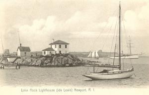 Lime Rock Lighthouse, Newport, Rhode Island