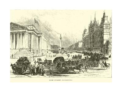 Lime Street, Liverpool--Giclee Print
