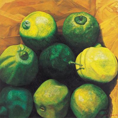 Limes, 2004-Pedro Diego Alvarado-Giclee Print