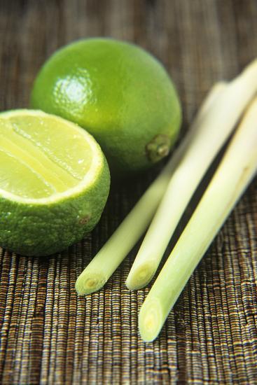 Limes And Lemongrass-Veronique Leplat-Photographic Print