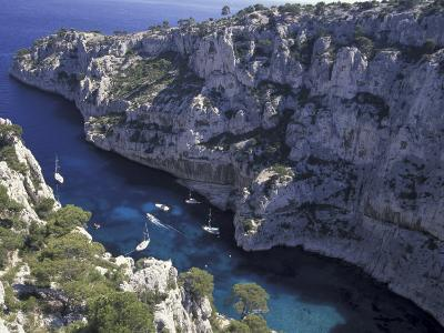 Limestone Cliffs, Calanques, Provence, France-Art Wolfe-Photographic Print