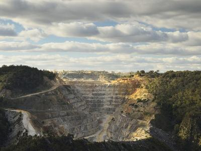 Limestone Quarry at Bungonia, New South Wales, Australia, Pacific-Jochen Schlenker-Photographic Print