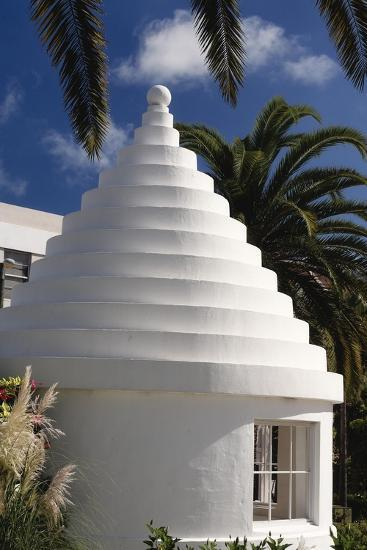 Limestone Roof, Hamilton, Bermuda-George Oze-Photographic Print