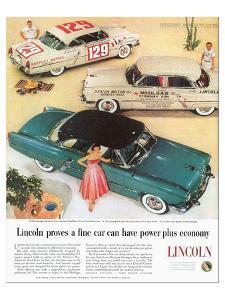 Lincoln 1954 Efficiency