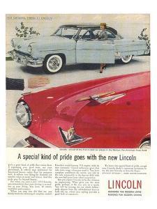 Lincoln 1954 Kind of Pride