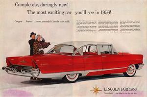 Lincoln 1956 - Daringly New