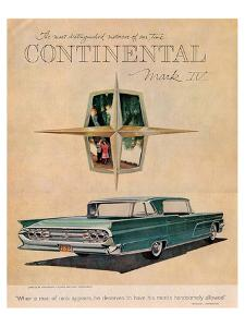 Lincoln 1959 Continental Iv