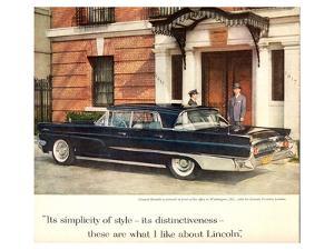 Lincoln 1959 Distinctiveness