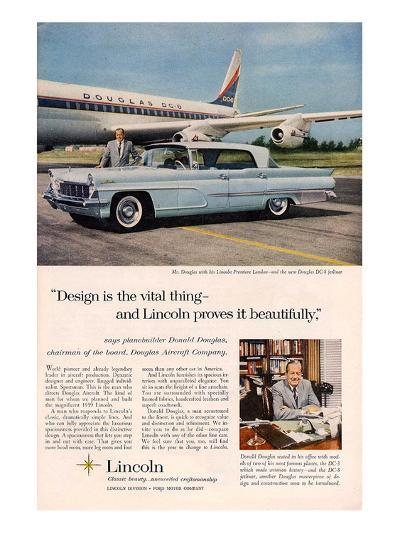Lincoln 1959 Douglas: Design--Art Print