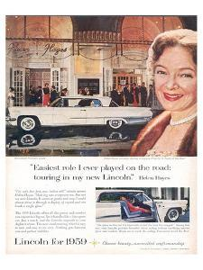 Lincoln 1959 Helen Hayes
