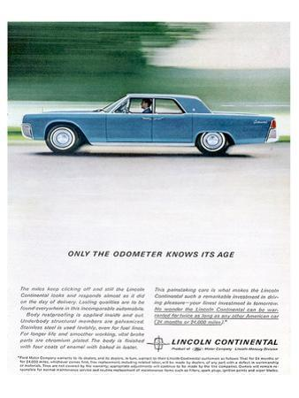 Lincoln 1962 Odometer Knows…