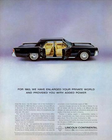 Lincoln 1963 - Private World