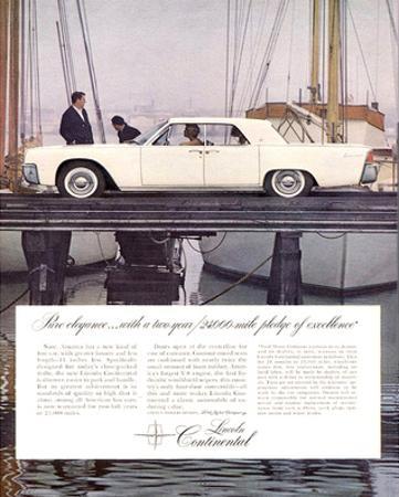 Lincoln 1963 - Pure Elegance