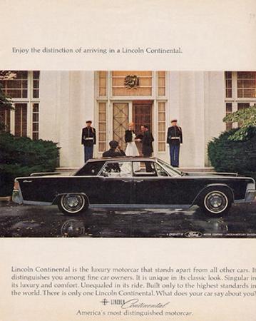 Lincoln 1964 - Distinction