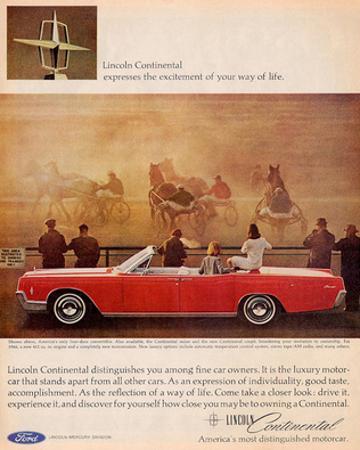 Lincoln 1966 Continental Sedan