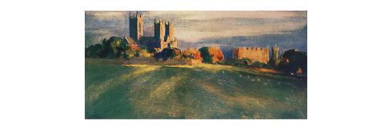 'Lincoln Cathedral', 1912-Unknown-Giclee Print