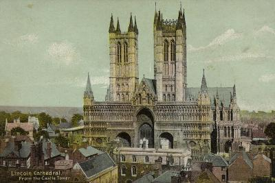 Lincoln Cathedral, from the Castle Tower--Photographic Print