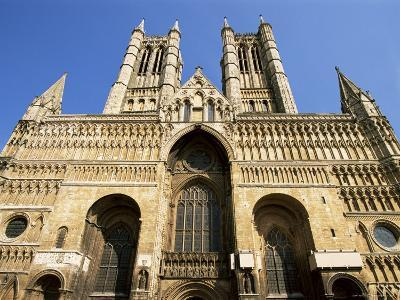 Lincoln Cathedral, Lincoln, Lincolnshire, England, United Kingdom-Neale Clarke-Photographic Print