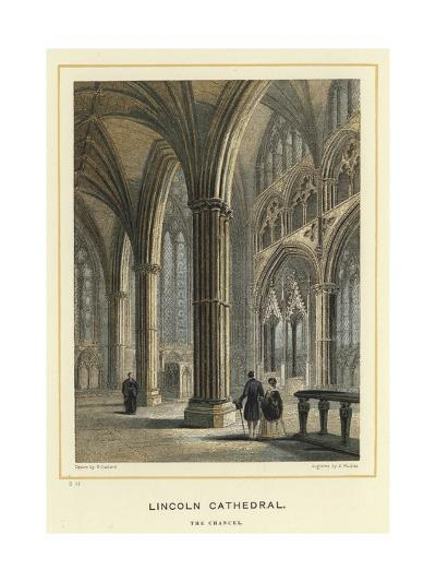 Lincoln Cathedral, the Chancel--Giclee Print