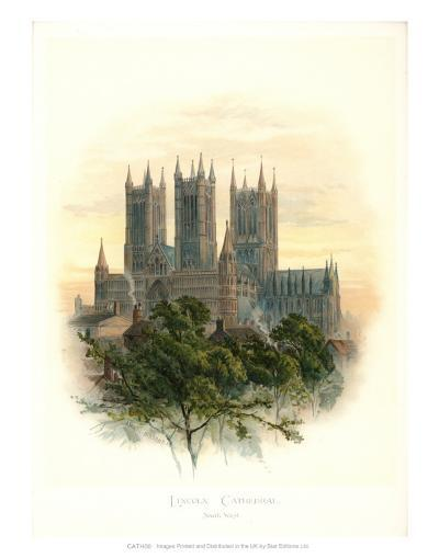 Lincoln Cathedral-Arthur Wilde Parsons-Art Print