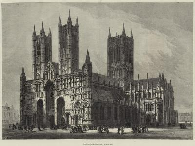Lincoln Cathedral-Samuel Read-Giclee Print