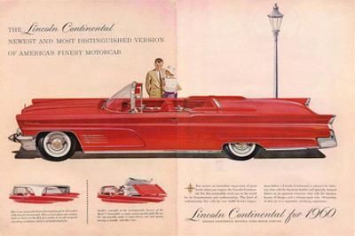 Lincoln Continental for 1960