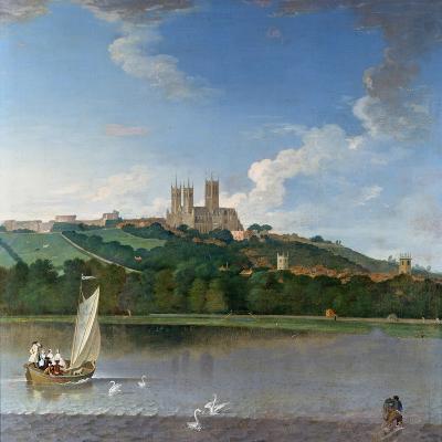 Lincoln from the Brayford Pool-Joseph Baker-Giclee Print