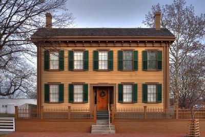 Lincoln Home Springfield Illinois-Steve Gadomski-Photographic Print