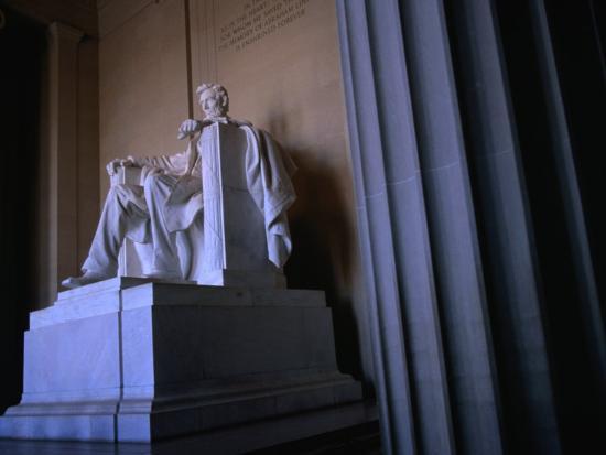 Lincoln Memorial Statue, Washington Dc, USA-Rick Gerharter-Photographic Print