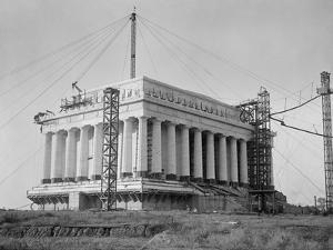 Lincoln Memorial Under Construction in 1915