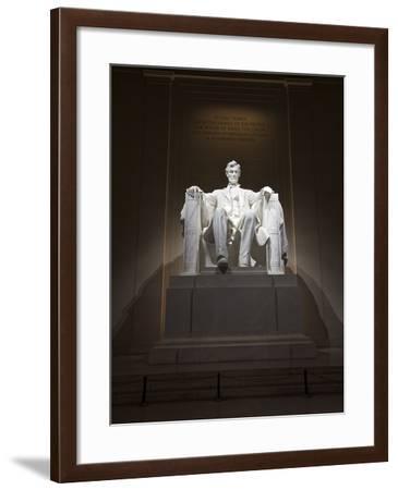 Lincoln Memorial, Washinton D.C., USA-Stocktrek Images-Framed Photographic Print