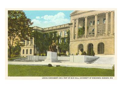 Lincoln Monument, University, Madison, Wisconsin--Art Print