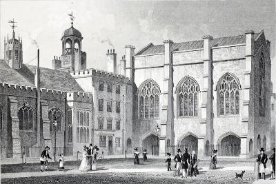 Lincoln's Inn Hall-Thomas Hosmer Shepherd-Giclee Print