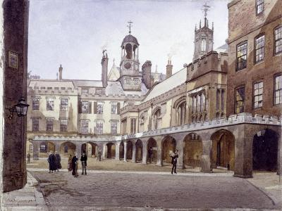 Lincoln's Inn Old Hall, London, 1889-John Crowther-Giclee Print